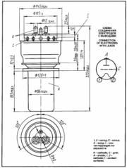 Схема лампы ГУ-22А