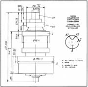 Схема лампы ГУ-96Б